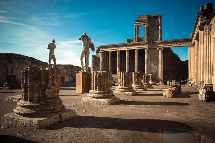 Pompei - Gli scavi